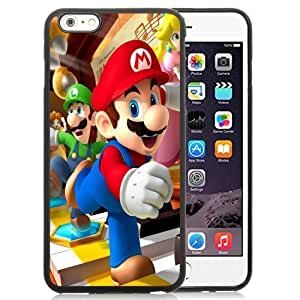 New Personalized Custom Designed For iPhone 6 Plus 5.5 Inch Phone Case For 3D Super Mario Brothers Phone Case Cover