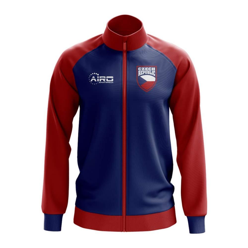 Airo Sportswear Czech Republic Concept Football Track Jacket (Blau) - Kids