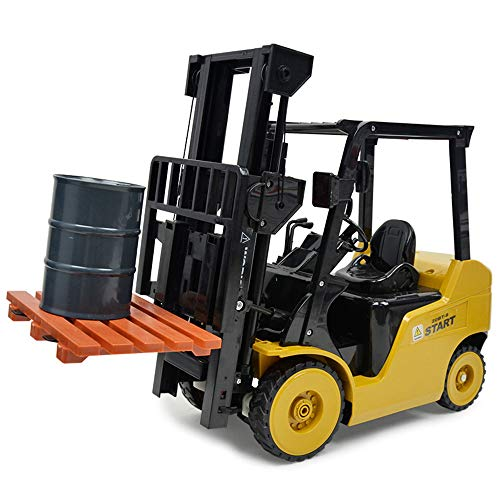 1:8 RC 8CH Forklift Truck, Sonmer Simulation Construction Toys,With 2.4GHz Remote Control,Perfect Christmas Birthday Present For Kids(Above age 8) by Sonmer (Image #1)