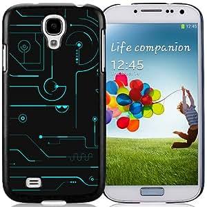 Circuit Board Hard Plastic Samsung Galaxy S4 I9500 Protective Phone Case