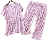 #3: Amoy madrola Women Cotton Sleepwear/Short Sets/Pajamas Set SY215