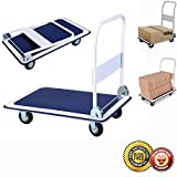 New Platform Cart 660lbs Folding Foldable Dolly Push Hand Truck Moving Warehouse