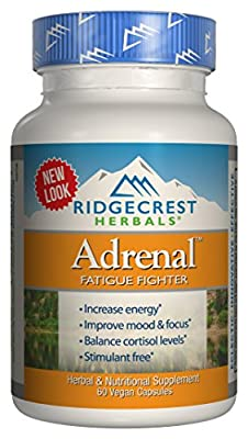 Ridgecrest - Adrenal Fatigue Fighter 60 veggie caps