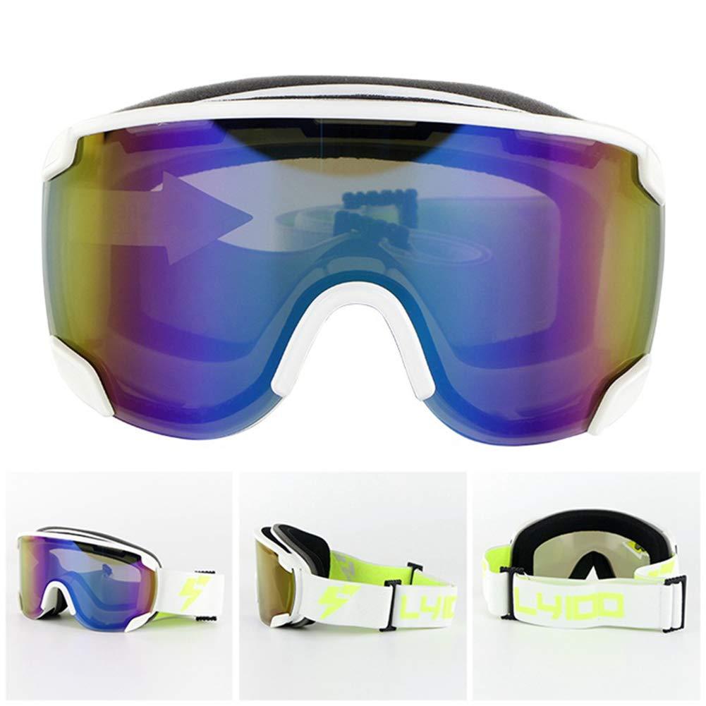 iShinè_glasses Gafas de esquí Gafas de Seguridad Exterior de ...