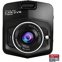 Wewdigi Mini Car DVR Camera GT300 Camcorder 1080P Full HD Video Registrator Parking Recorder G-sensor Night Vision Dash Cam black +32GB TF Card