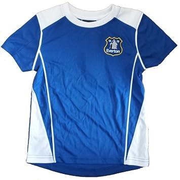 Everton FC poli camiseta de fútbol (grande): Amazon.es: Deportes y aire libre