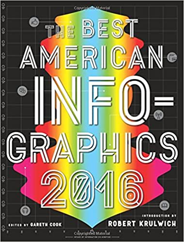 The Best American Infographics 2016 Series R Gareth Cook Robert Krulwich 9780544556386 Amazon Books