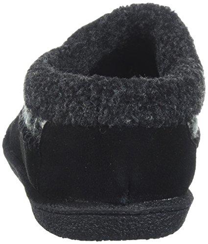 Negro con Peluche Staheekum Mujer Zapatillas para Forro de OwB4qaw