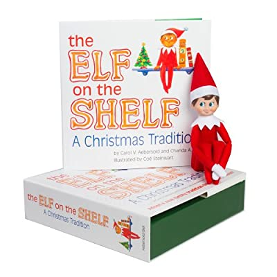 Elf on the Shelf:A Christmas Tradition (light boy scout elf)