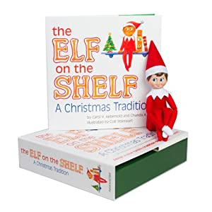 Amazon.com: The Elf on the Shelf: A Christmas Tradition with Blue ...