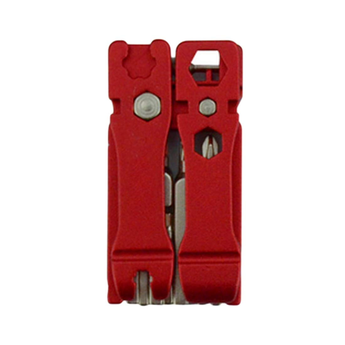 qianzhi 19 in 1 Portable Foldable Bicycle Multifunctional Tool Hex Key Screwdriver Wrench Bike Cycling Multi Repair Tools Set Kit
