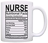 Best ThisWear Wife And Mom Coffee Mugs - Nurse Gifts Nurse Nutritional Facts Label Nursing Gag Review