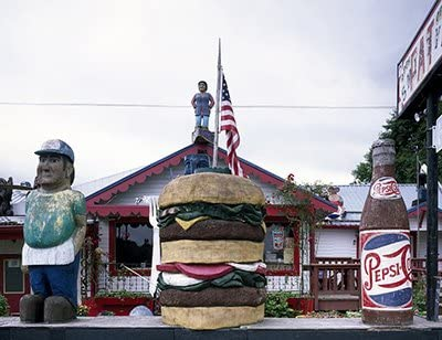 Amazon Com Photo Fat Smitty S Diner Olympic Peninsula Discovery Bay Washington Photographs Photographs