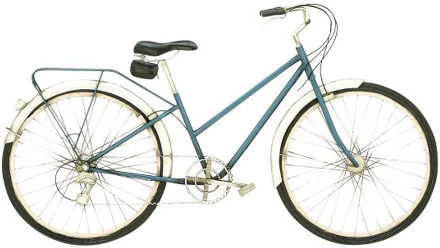 MISC Bicicleta de Metal para Colgar en la Pared, diseño Vintage de ...