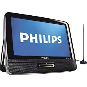 philips pt902 9 inches 1080p portable digital. Black Bedroom Furniture Sets. Home Design Ideas