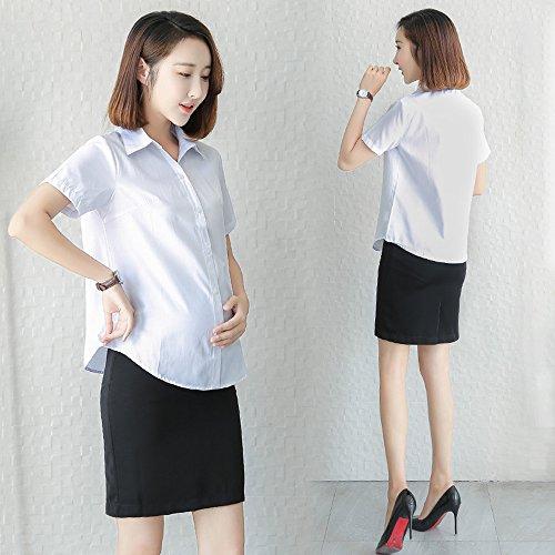 53c1fb751 Chic Fuyingda Cinturón ajustable para mujer embarazada Mini falda lápiz