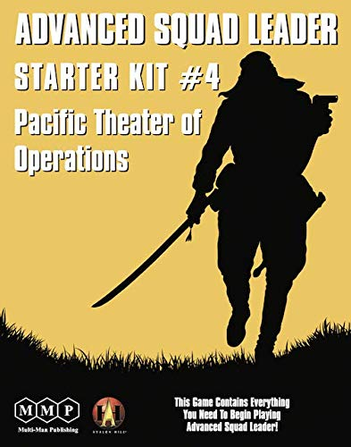 [해외]MMP: Starter Kit #4 Pacific Theater of Operations Boardgame for The Advanced Squad Leader ASL Game Series / MMP: Starter Kit #4, Pacific Theater of Operations, Boardgame for The Advanced Squad Leader ASL Game Series