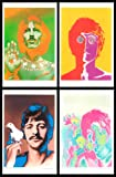Beatles, Set of Four 11x17 Digital Poster Reproductions By Richard Avedon