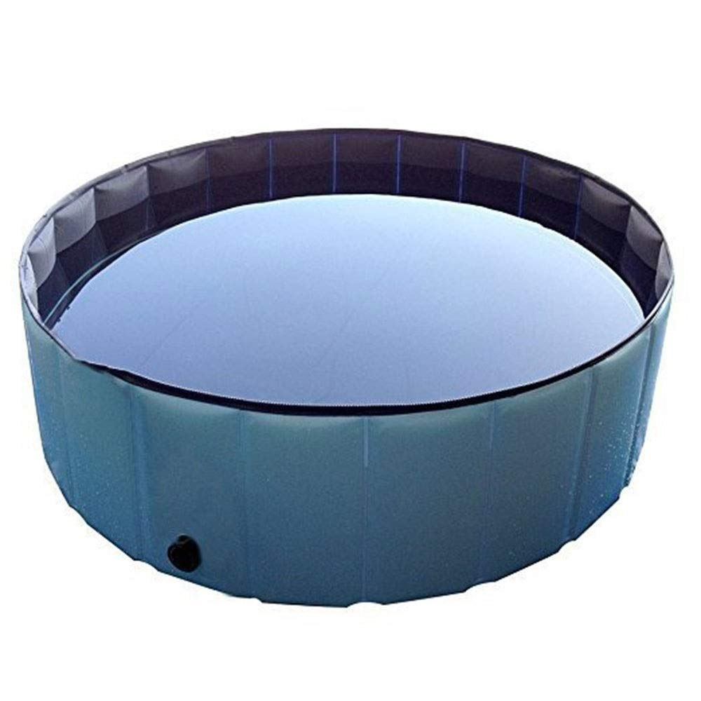Foldable Dog Pool,Pet Bath Collapsible Swimming Pool Round Heavy Duty Outdoor Portable Pet Bathing Tub Kiddie Pool For Dogs Cats And Kids