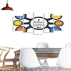 UHOO Modern PaintingsThanksgiving Template Business Meeting Concept. Home Furnishing Decorative Background Wall Mural Painting