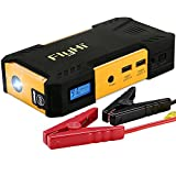 FlyHi 800A Peak 18000mAh Portable Car Jump Starter D12 (Up to 6.5L Gas or 5.2L Diesel Engine) Auto Battery Booster and Power Bank with LED Flashlight and Smart Charging Ports