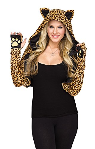 Cheetah Shrug Adult Costume Accessory, Small/ (Cheetah Costume Accessories)