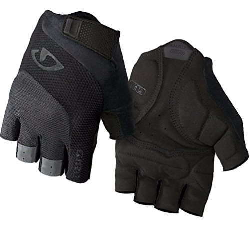 Gel Short Finger Glove - Giro Bravo Gel Glove - Men's Black, XL