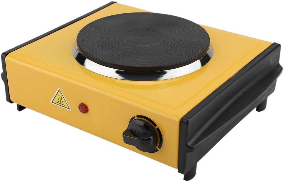 TOOGOO Calentador EléCtrico Estufa Calentador EléCtrico PráCtico Estufas de Placas Calefactoras Horno ElectrotéRmico para Laboratorio Melt Wax Solid 1000W (Enchufe de la UE)