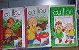 caillous friends set 3 vhs : calillous furry friends, calllous friends, caillous backyard adventure