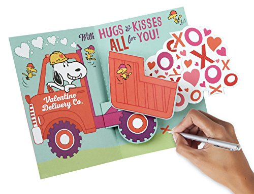 Hallmark Peanuts Valentine's Day Pop Up Card (Snoopy and Woodstocks) Photo #7