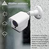 Wyze Cam Outdoor Mount, Weatherproof Wall Mount for Wyze Cam 1080p HD Camera, 360 Degree Protective Adjustable Housing & Mounting Bracket