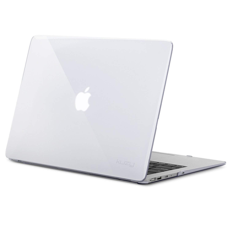 info for 7cb95 e25ea Kuzy Crystal SAIKAMcBAIR13CLR 13-inch Rubberized Hard Case Cover for Apple  MacBook Air (Transparent)