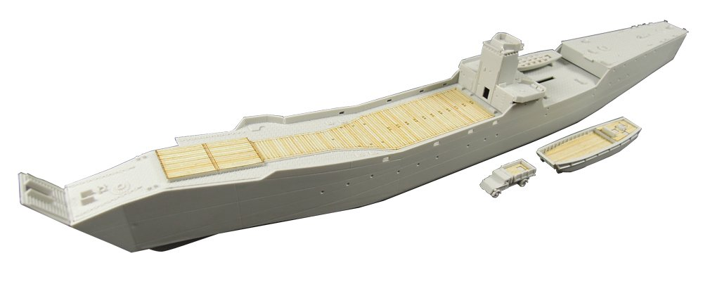 Pit Pit-road 1/350 Sea of Japan The sea of Japan army 2 Japan naval transport vessel No. 103 Fuso wood deck