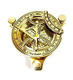 """5"""" Sundial Compass Solid Brass Sun Dial"""