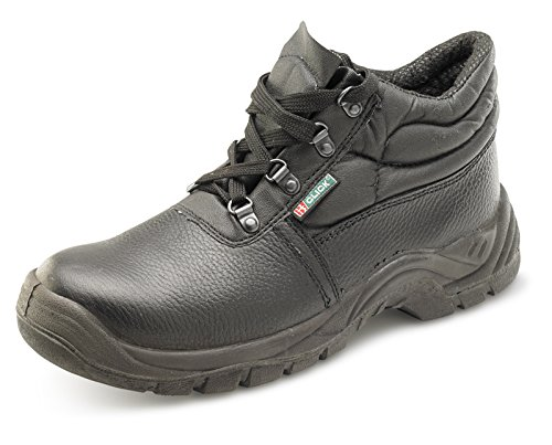 Click Footwear Footwear Dual Density S3 Chukka Boot M-Sole Black - Size 6.5