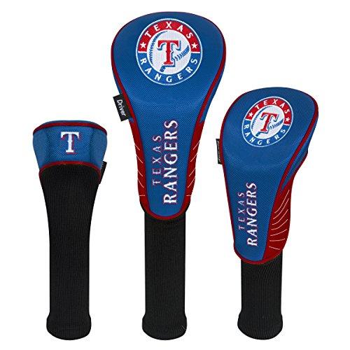 (MLB Texas Rangers Set of Three Headcoversset of Three Headcovers, NA)