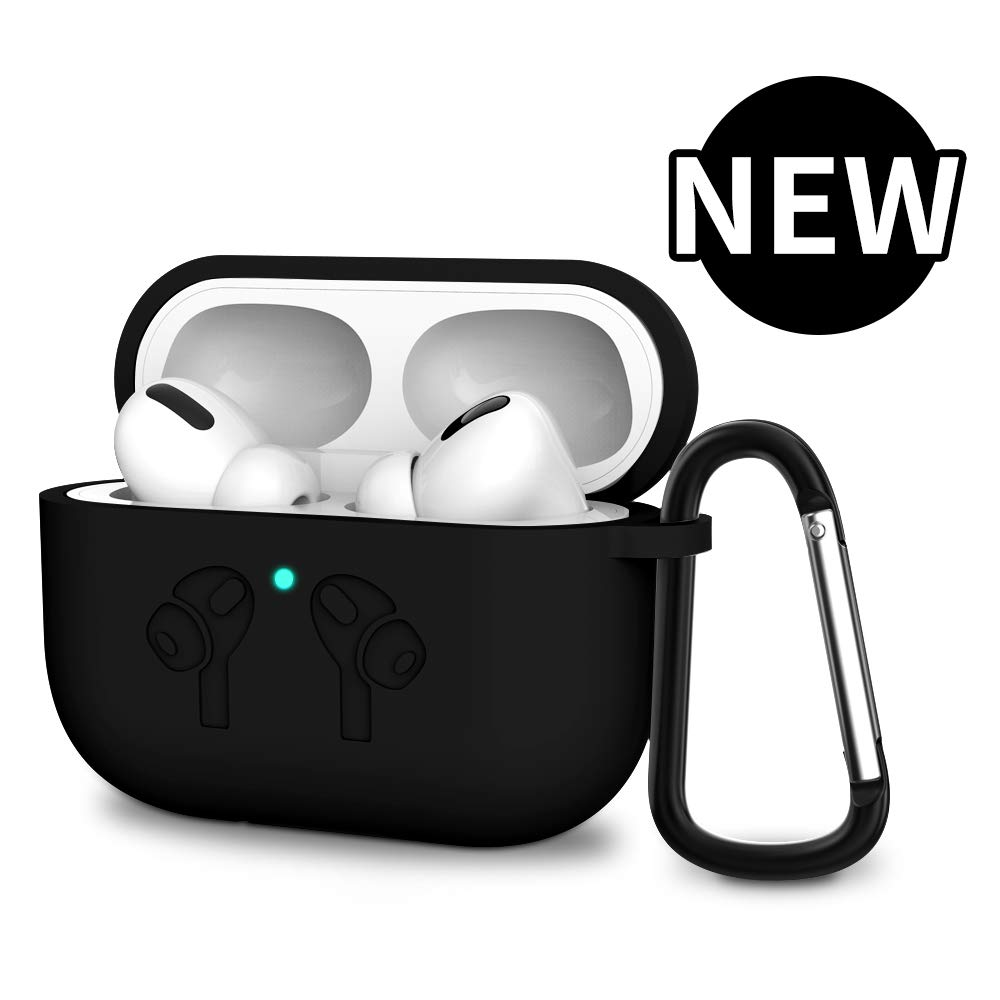 AirPods Pro Case, OHUI Soft Silicone Full Protective Shockproof Cover...