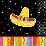 Fiesta Fun Beverage Napkins 16ct