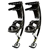 Air-Trekkers Youth Model - Carbon Fiber Spring Jumping Stilts - Medium, 70-95 lbs