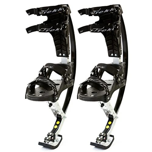 KIDS JUMPING STILTS by AIR TREKKERS Spring Loaded JUMP SHOES are Cool Gifts for Kids Ages 8-12 Develop Valuable Athletic...