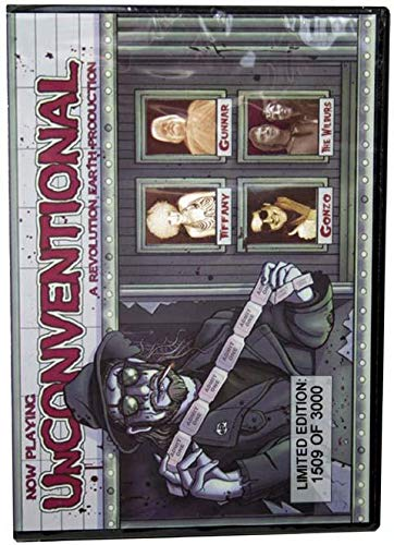 Unconventional: A Revolution Earth Production 2004 (Limited Edition 168 of 3000) featuring (John) Zacherley