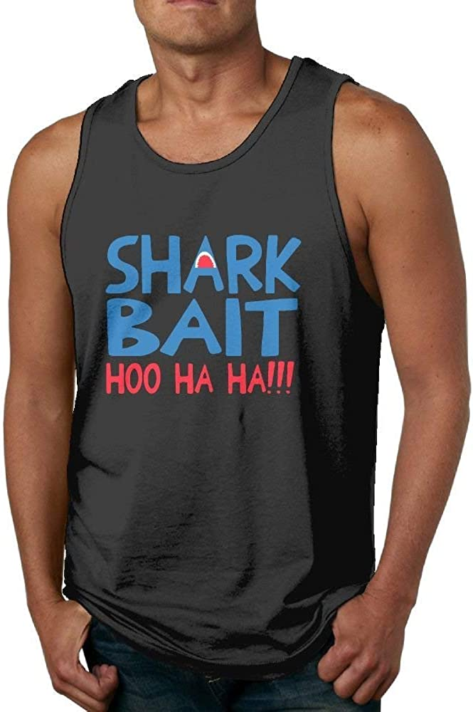 Shark Bait HOO HA HA Mens Essential Muscle Sleeveless Shirt Tank Top Vest