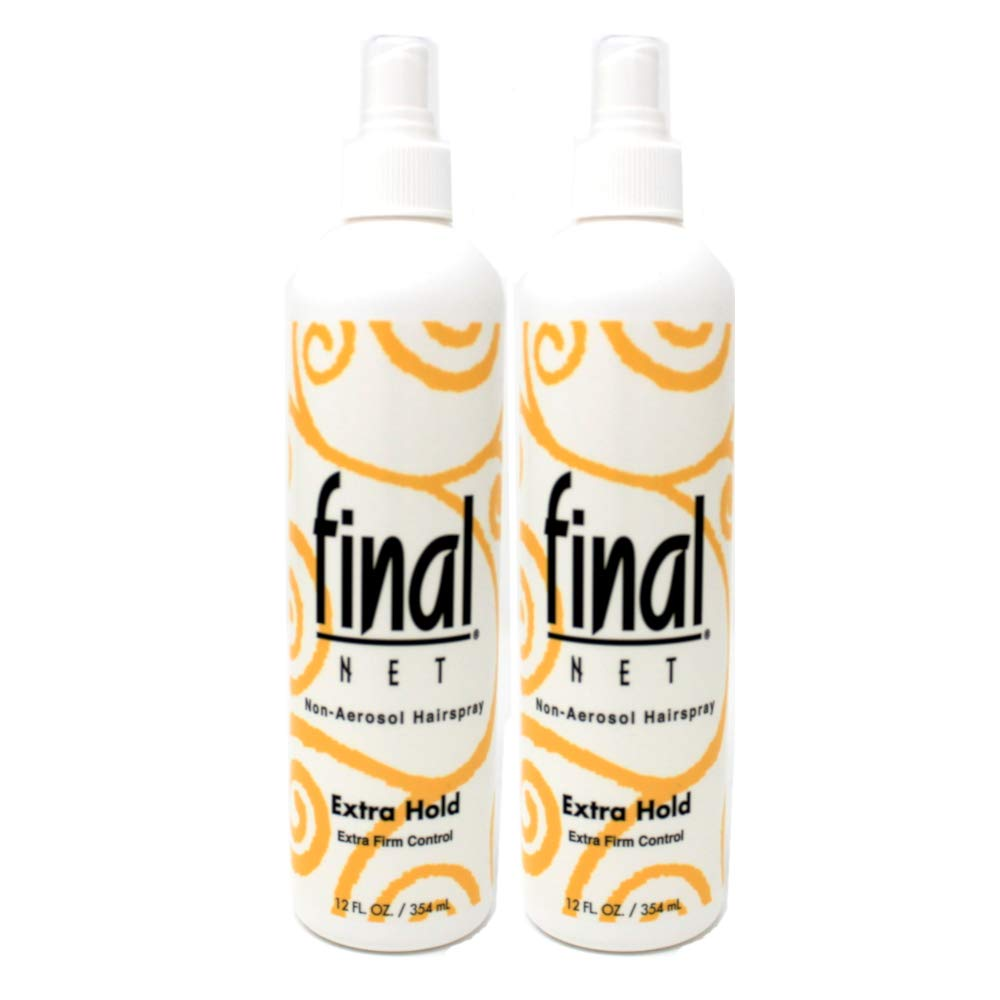 Final Net Pump Hairspray 12oz X-Hold Unscented by Final Net IDELLE LABS LTD