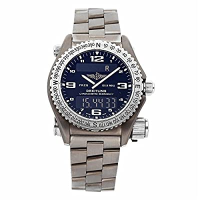 Breitling Emergency Quartz Male Watch E76321 (Certified Pre-Owned) from Breitling