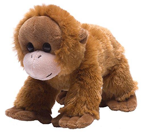 Wild Republic Orangutan Plush, Stuffed Animal, Plush Toy, Gifts for Kids, Hug'Ems 7