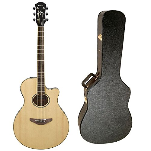 Yamaha APX600NA Thinline Acoustic-Electric Guitar  with Hard