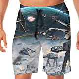 Haixia Man Swim Swim Short The Universe is Always Mysterious and Curious
