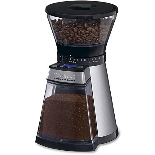 Cuisinart CBM-18 Programmable Conical Burr Urnex Grindz Coffee Grinder by Cuisinart