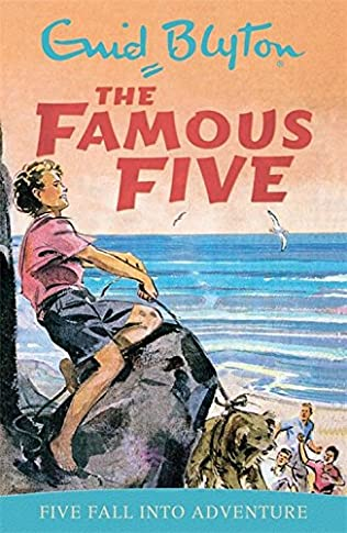 book cover of Five Fall Into Adventure