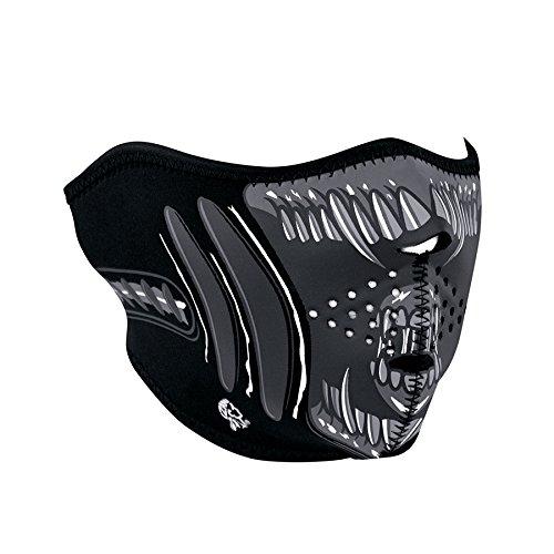 Zanheadgear WNFM039H Neoprene Half Face Mask, Alien